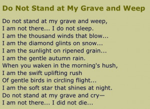 An Irish poem-Jimmy's uncle read it at my father-in-law's funeral. How ...