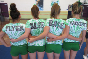 Cheerleading Quotes For Bases Cheer cheerleading flyer base