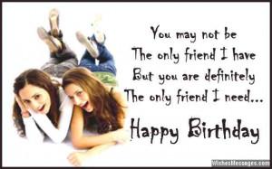 Best Friend Birthday Wishes 07