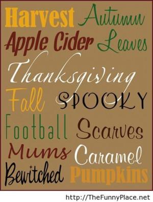 Funny autumn quotes 2013