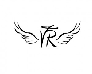 Initials with halo and wingsTattoo Ideas, Angel Wings, Angels Wings ...