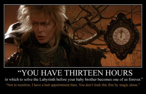 Jareth's Busy Schedule by MonacoMac