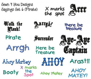 These are the pirate sayings and quotes Pictures
