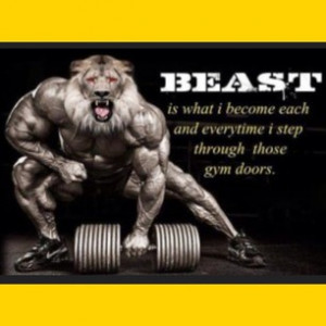 Beast mode switched on every time you train, enjoy your Saturday :-) # ...