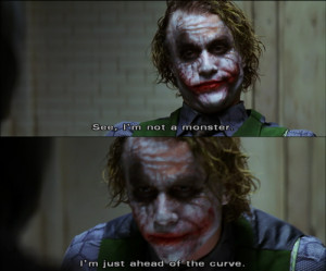 ledger joker quote hidden meanin cachedin his final scene joker
