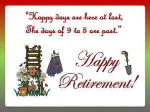 Warm Greetings On Retirement.