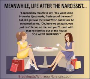 narcissist rage quote
