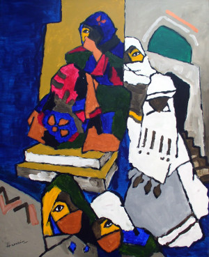 Paintings of M.F Husain