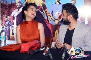 Kangana and Vir Das Promote Revolver Rani