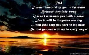 Miss You Dad Quotes From Son I miss you messages for dad