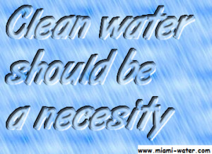 Water Quotes - Quote about Water - Clean water should be a necesity