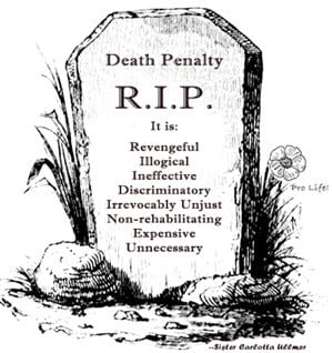 capital punishment death penalty pro-life my ass