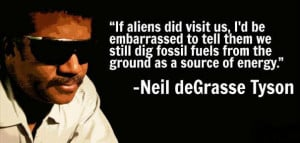 If aliens did visit us, I'd be embarrassed to tell them we still dig ...