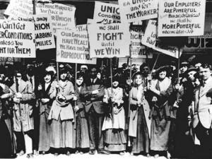 Women Garment Workers Strike