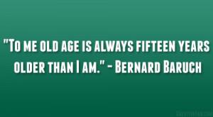 Bernard Baruch Quote