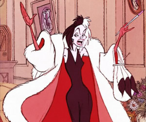 "Cruella de Vil on gossip: ""Hang the papers! It'll be forgotten ..."