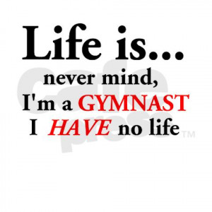 Funny Gymnastics Sayings