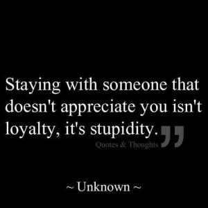 Life#lesson#loyalty