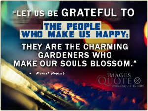 The people who make us happy – Happy Quote