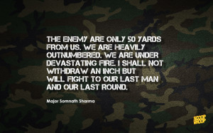 soldier sacrifice quotes