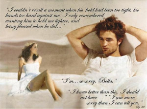 bella and edward cullen this is the quote i really like it. in ...