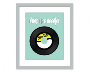 ... Photography: Dreamy Vinyl Record Scrabble Tile 8x10 inch by blueorder
