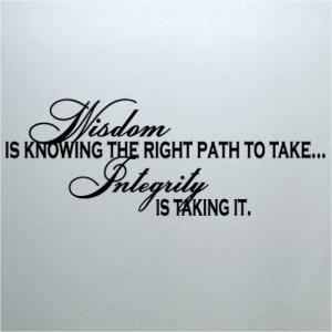 Wisdom Quote vinyl lettering wall art home room decor sayings stickers