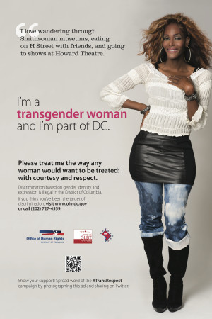 ... new campaign affirming the rights of its transgendered citizens