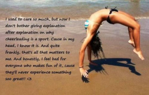 Cheer Tumbling Quotes this image include cheer
