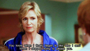 cool, glee, happiness, jane lynch, life, love, people, quotes, sue ...