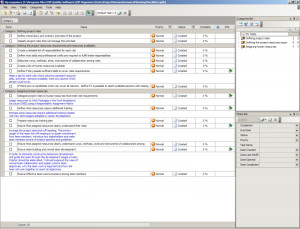 project resource plan template