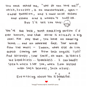 Everything About You Is Beautiful