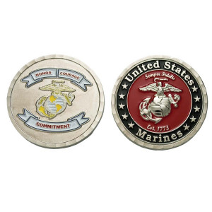 Honor Courage Commitment Coin