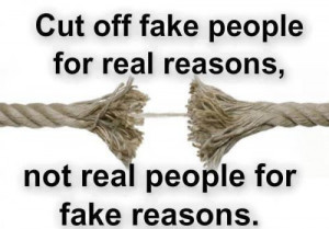 Fake People On Facebook Quotes