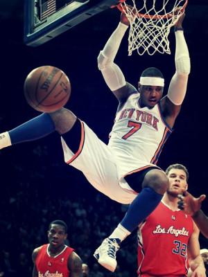 carmelo anthony #new york knicks #knicks #dunking