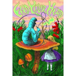 Amazon.com: Alice in Wonderland Poster Print Collections Poster ...
