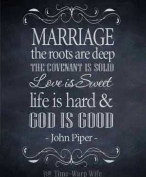 Marriage quote - John Piper