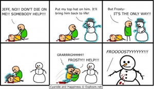 Frosty the Snowman c h style cyanide and happiness 3159899 500 292 ...