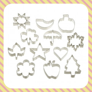 Cookie Cutters For Every Month