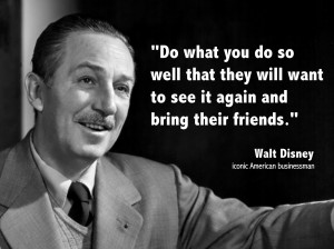Walt Disney, an American entrepreneur, is so well known that hardly ...