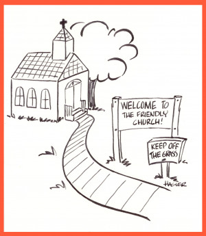 Funny Church Cartoons Cartoon-church. humorous 0