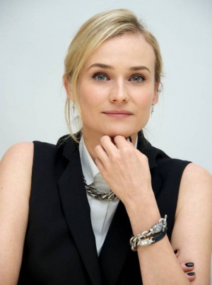 Diane Kruger wears Jaeger-LeCoultre Joaillerie 101 timepiece whic is ...