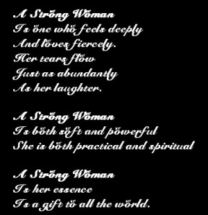 ... strong women poems independent women my mind a strong woman works out