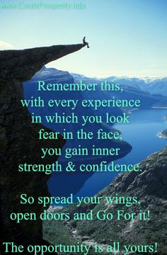 Inspiring Quote Inner Strength