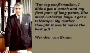 Wernher von braun famous quotes 1