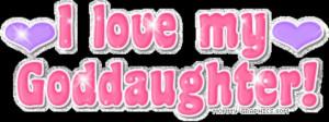 love my God Daughter