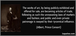 The works of art, by being publicly exhibited and offered for sale ...