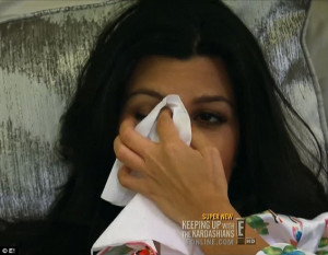 Emotional: Kourtney watched the Titanic and wanted her relationship to ...