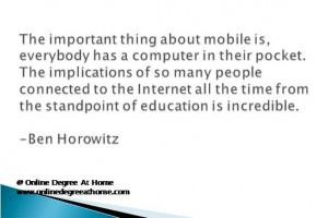 ... Ben Horowitz #Inspirationalquotesabouteducation #