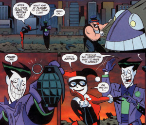 ... it is the joker who is joker comic quotes month the joker chimes in